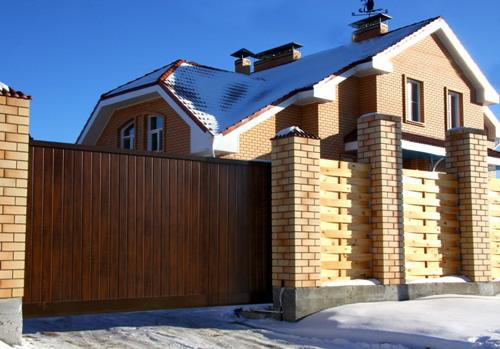 Откатные ворота в Кременкуле