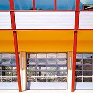 Панорамные ворота серии AluTerm